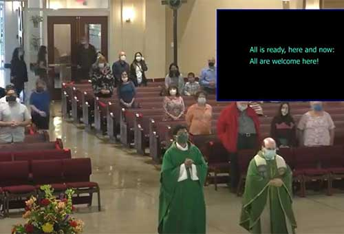 27 Sunday in Ordinary Time English Mass