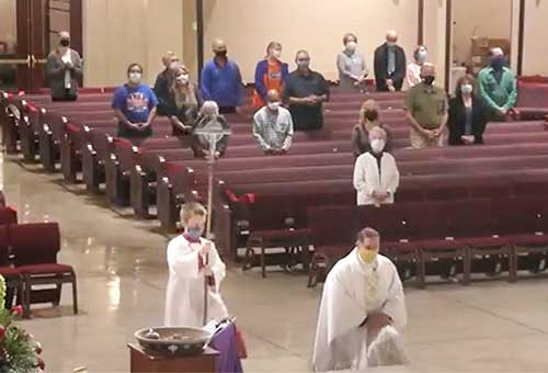 The Solemnity of Our Lord Jesus Christ English Mass